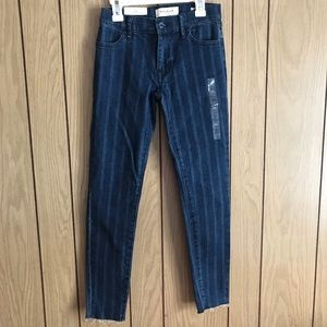 Brand New Pacsun Striped Ankle Jeggings